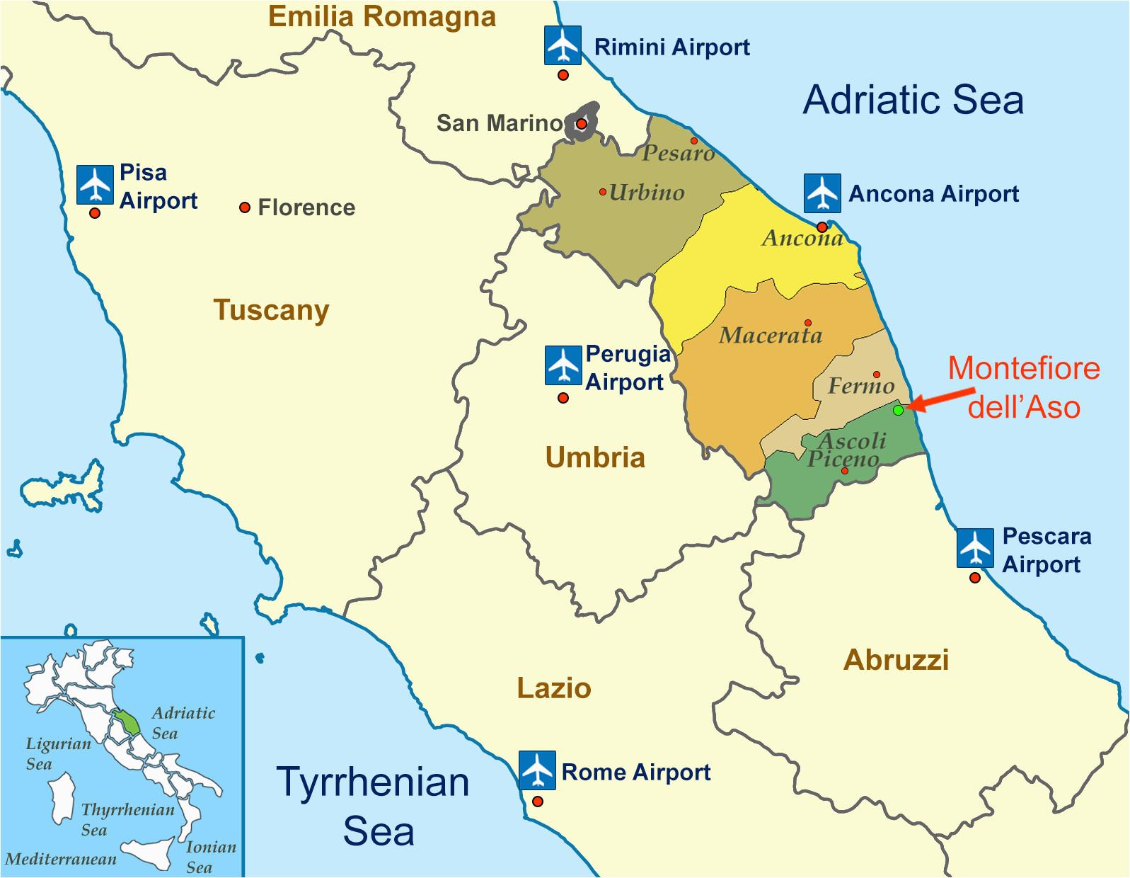 location of montefiore dell aso province ascoli piceno capital of