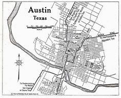 17 best austin texas maps historical images texas maps austin