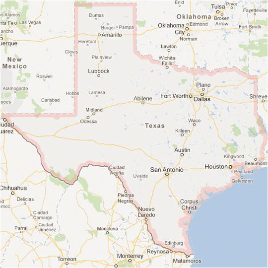 texas maps tour texas