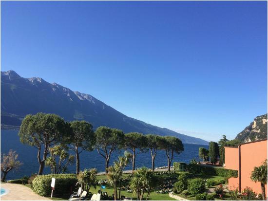 blick aus dem zimmer picture of hotel du lac limone sul garda