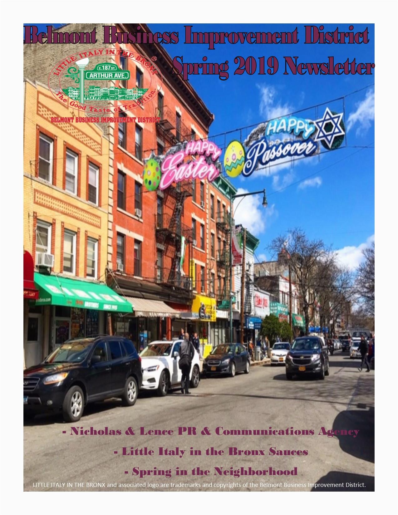 newsletters bronx little italy arthur avenue