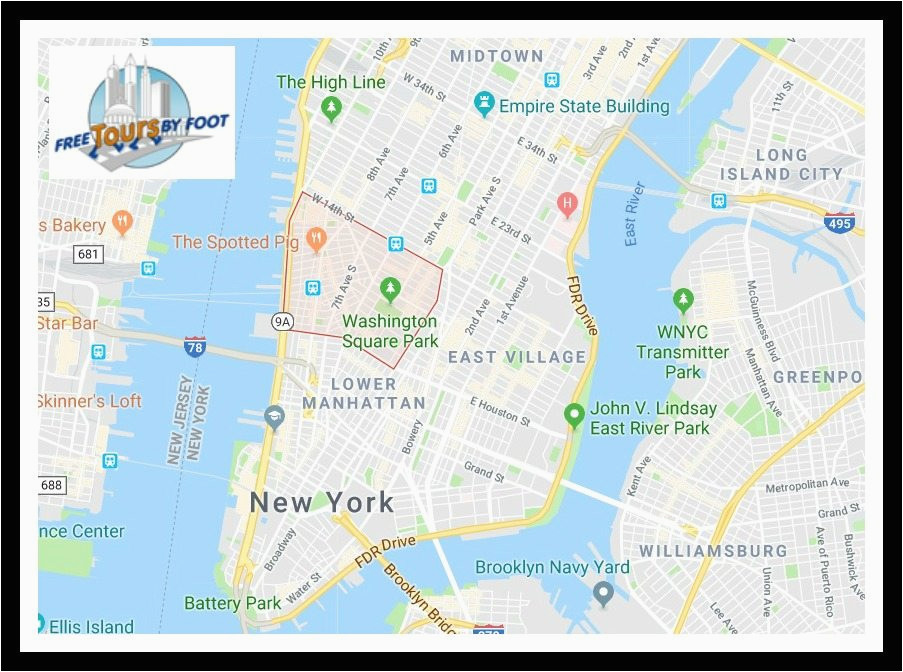 things to do in greenwich village map and visitor guide
