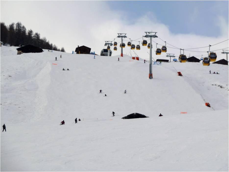 slopes livigno runs ski slopes livigno