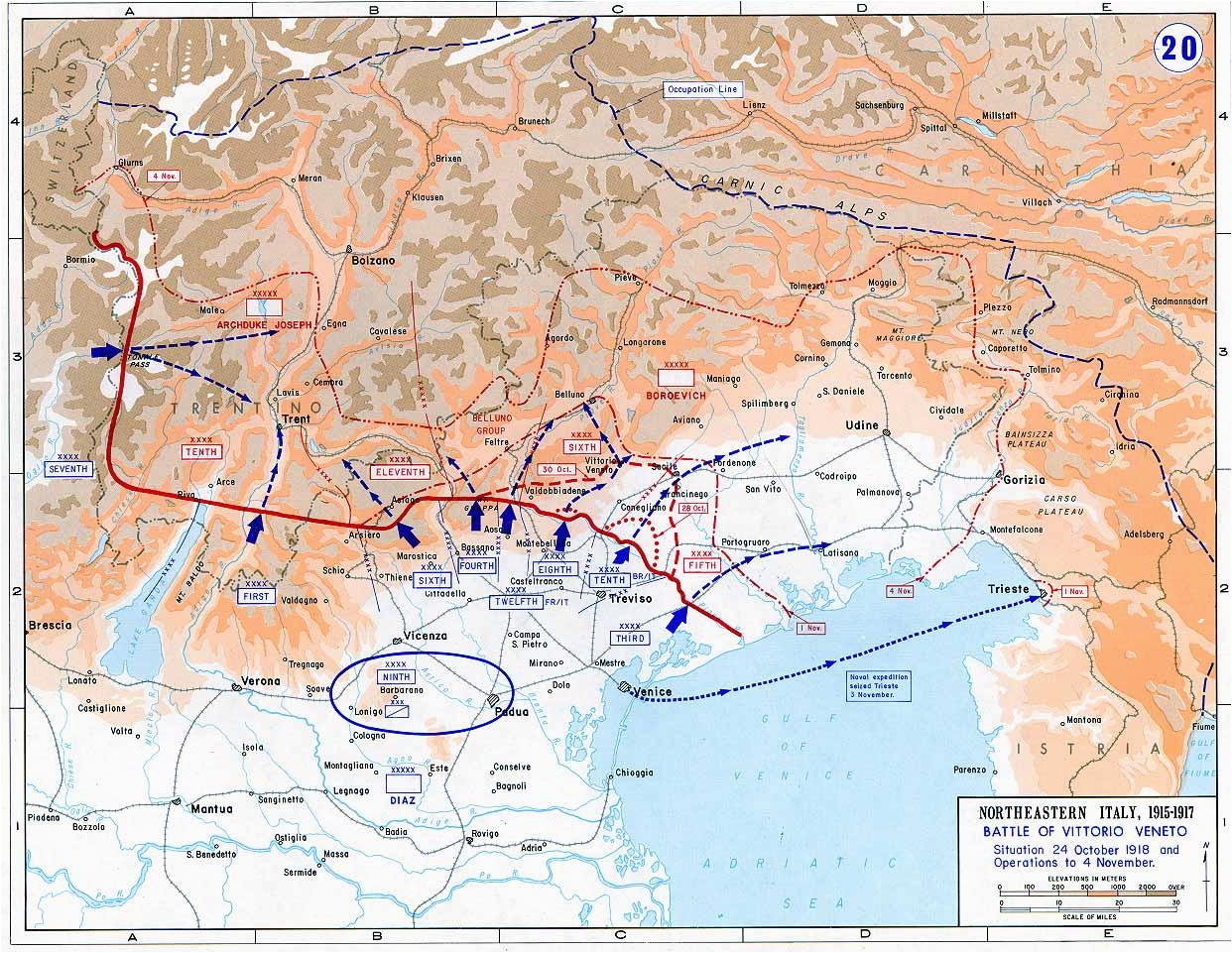 battle of vittorio veneto wikipedia