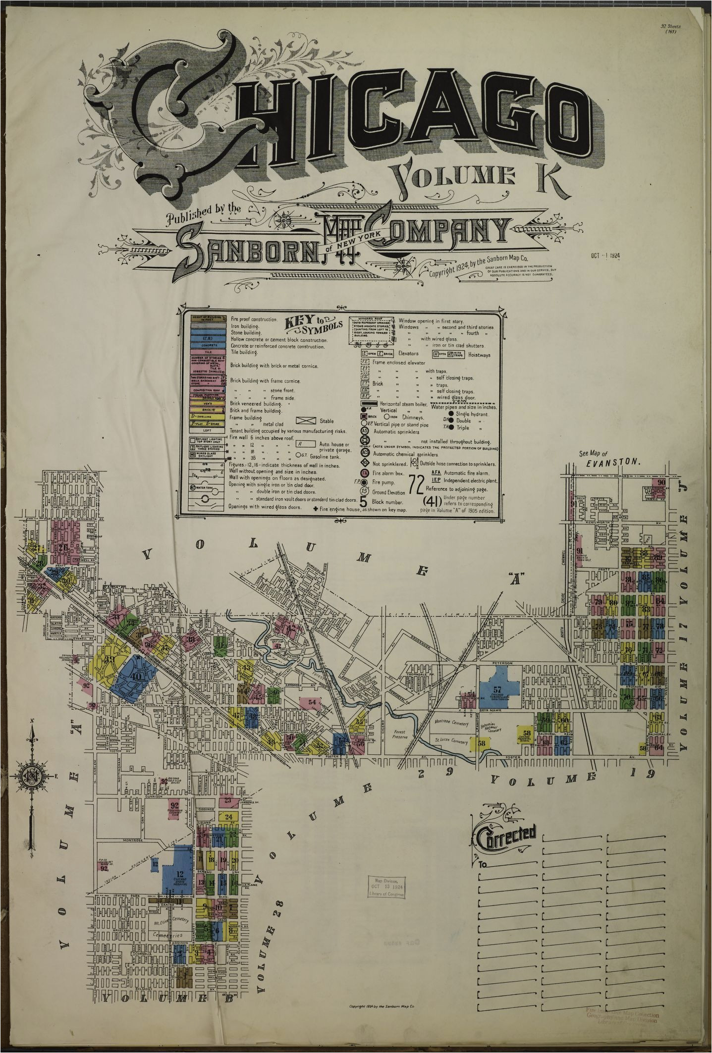 map 1920 1929 library of congress