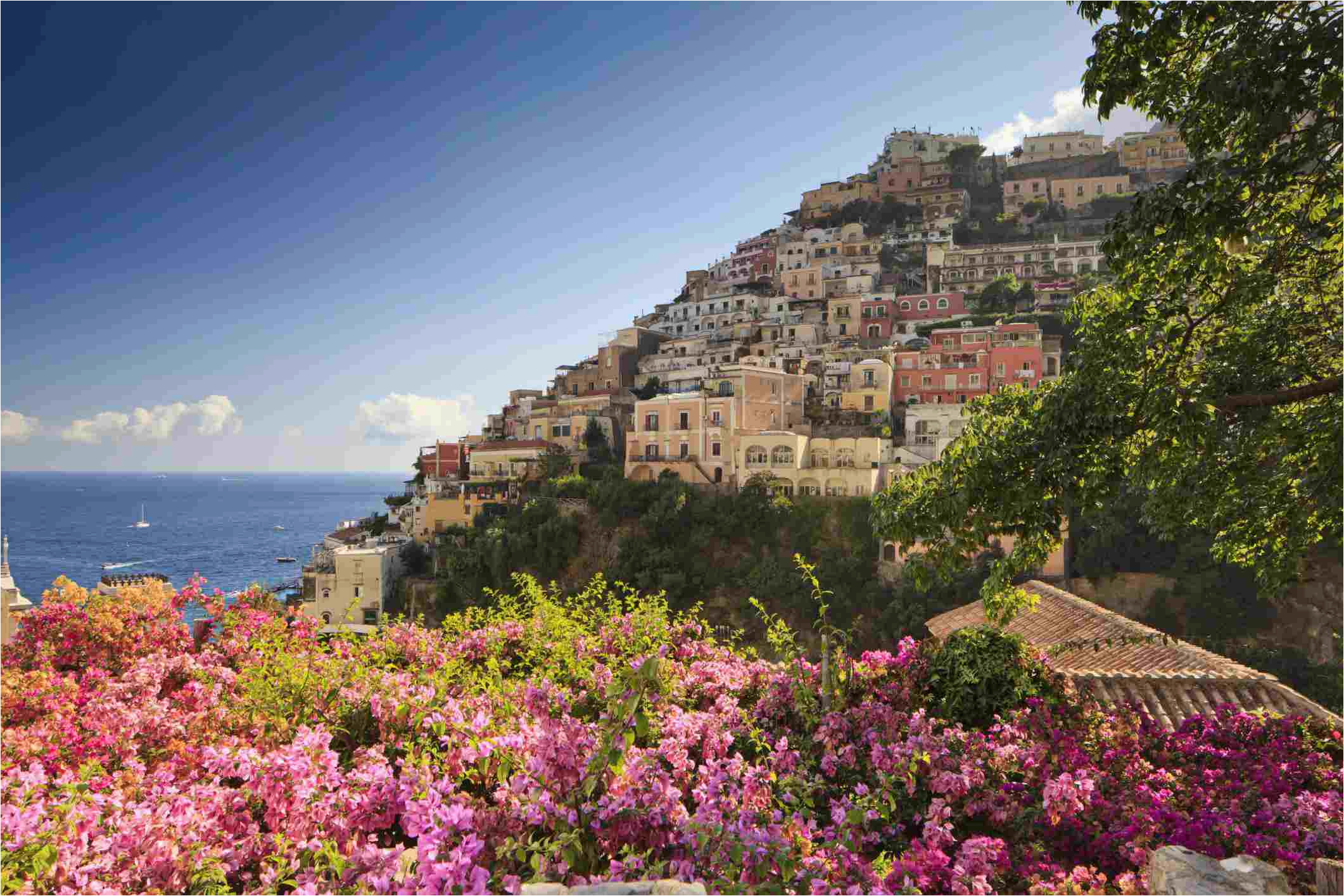 amalfi coast tourist map and travel information
