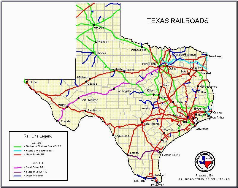 texas rail map business ideas 2013
