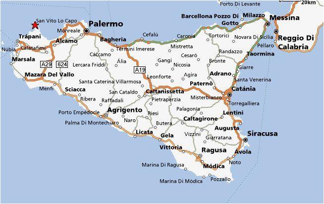 Map Of Catania Sicily Italy Sicily Italy Sicily Italy Travel ...