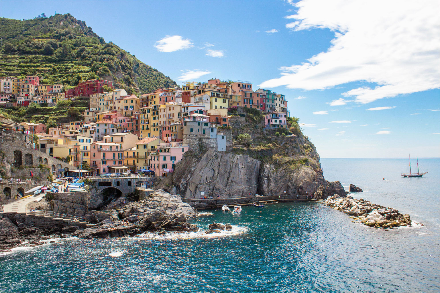 how to do cinque terre in 3 days guide itinerary green and
