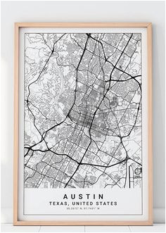 11 best austin map images charts typography austin map
