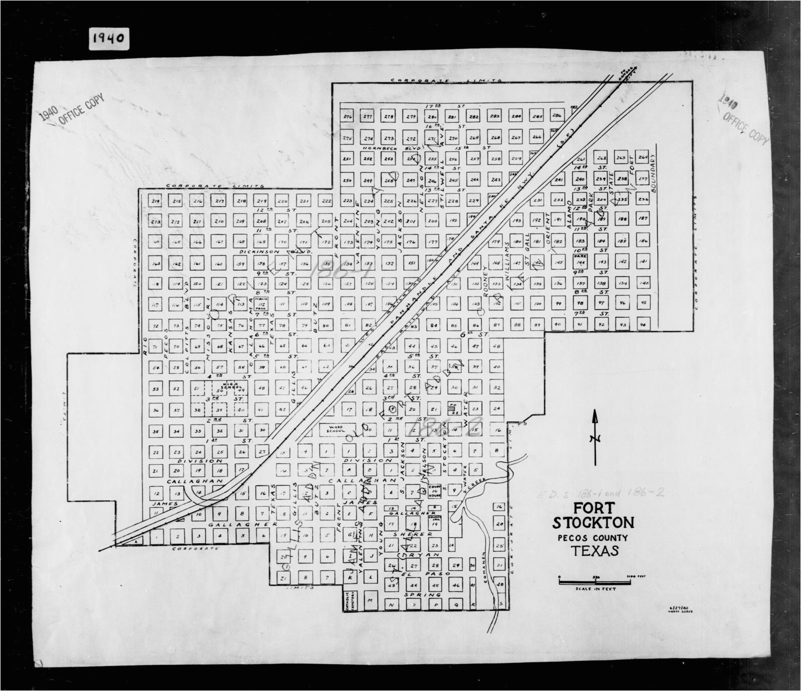 1940 census enumeration district maps texas pecos county fort