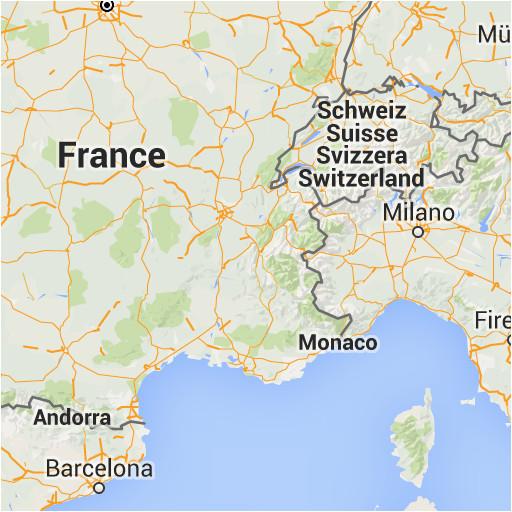 Map Of Italy Switzerland.Map Of France Italy And Switzerland Secretmuseum