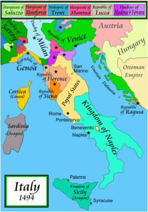 Map Of Italy And Switzerland.Map Of France Italy And Switzerland Italian War Of 1494 1498