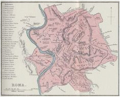28 best old map rome images antique maps cities ancient rome
