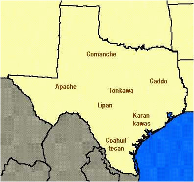 map of texas indians business ideas 2013