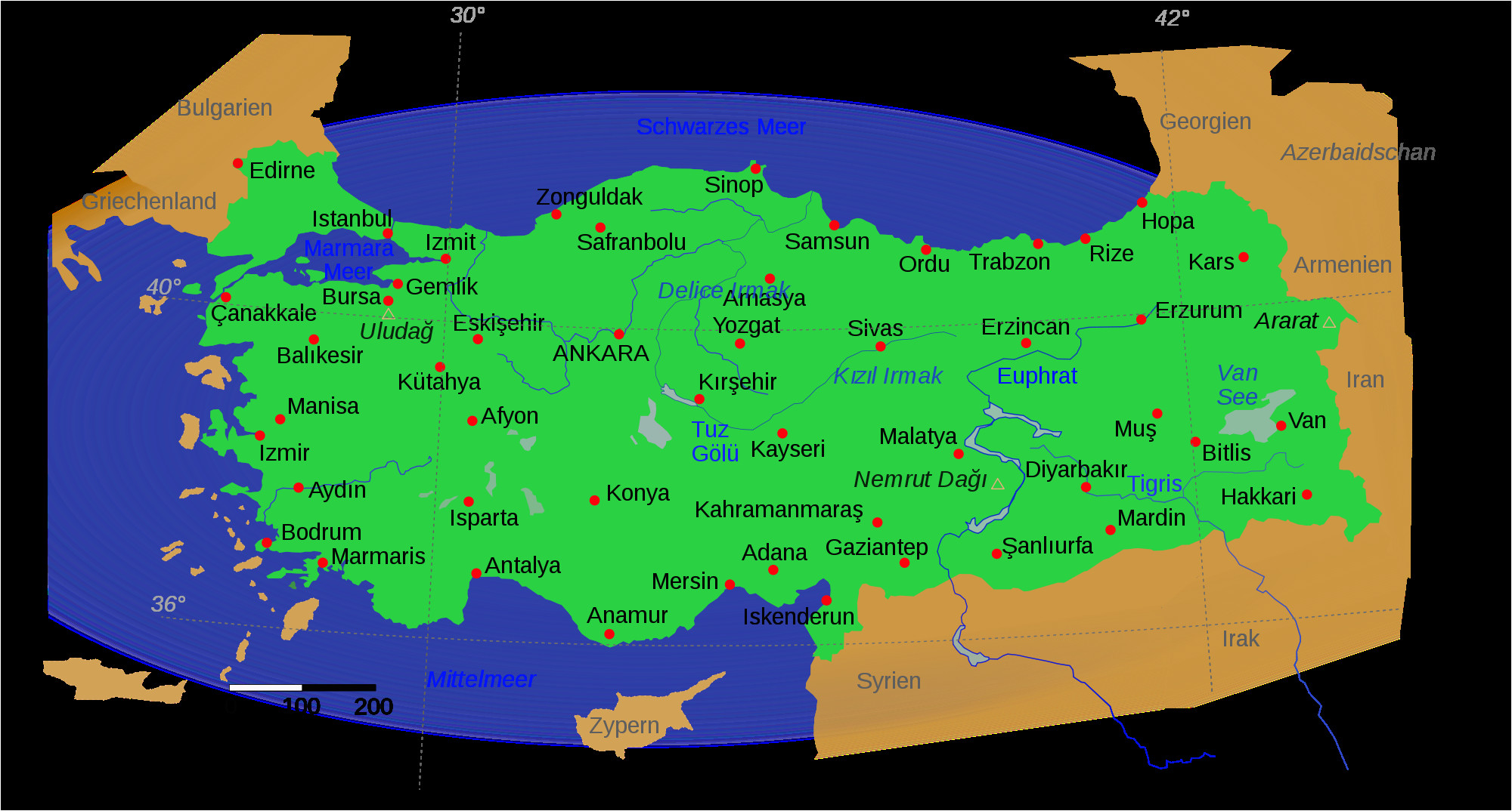 Map Of Italy Greece.Map Of Italy And Greece And Turkey Map Of Turkey And Greece