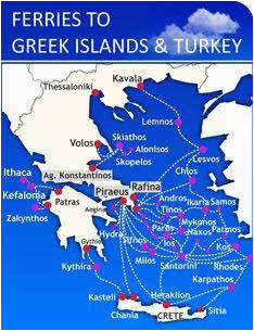 map of turkey and greece inspirational ferry route map italy greece