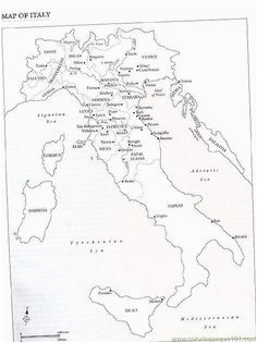 10 best italy project images map of italy italy for kids italy map