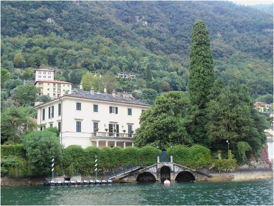george clooney s villa in lake como picture of metropole suisse