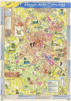 17 best maps mappe di comunita del salento puglia italia