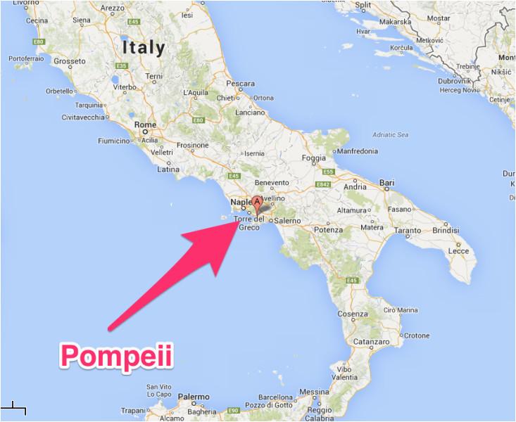 pompeii italy map pompeii italia kart stuff pompeii italy