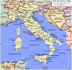 maps map of italy showing portofino diamant ltd com