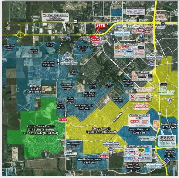 Katy Texas Map Showing Cities Of on map of katy tx neighborhoods, waller county texas map katy, map of katy texas area,