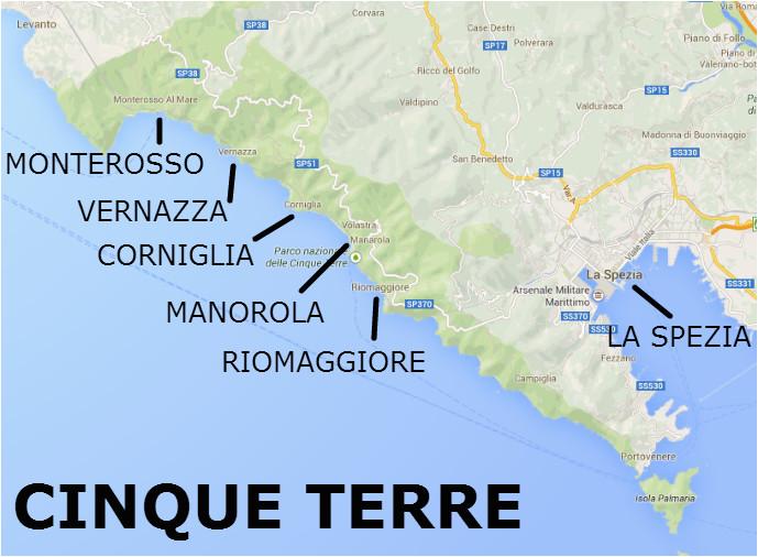 Map Of La Spezia Italy Denise Potter Nise128 On Pinterest