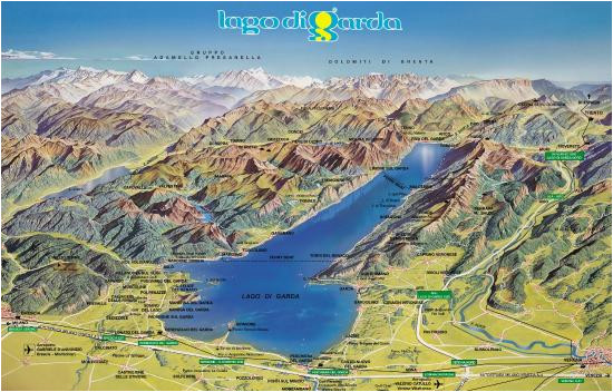 garda lake map picture of gardalanding peschiera del garda