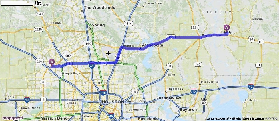 Map Of League City Texas Driving Directions From Liberty Texas 77575 to 12353 Fm 1960 Rd W
