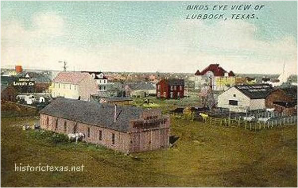 lubbock texas birds eye view lubbock texas early 1900s i live