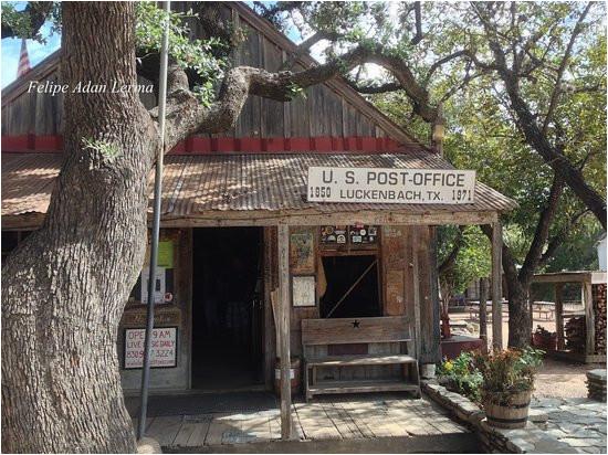 original luckenbach texas post office can still get a postcard