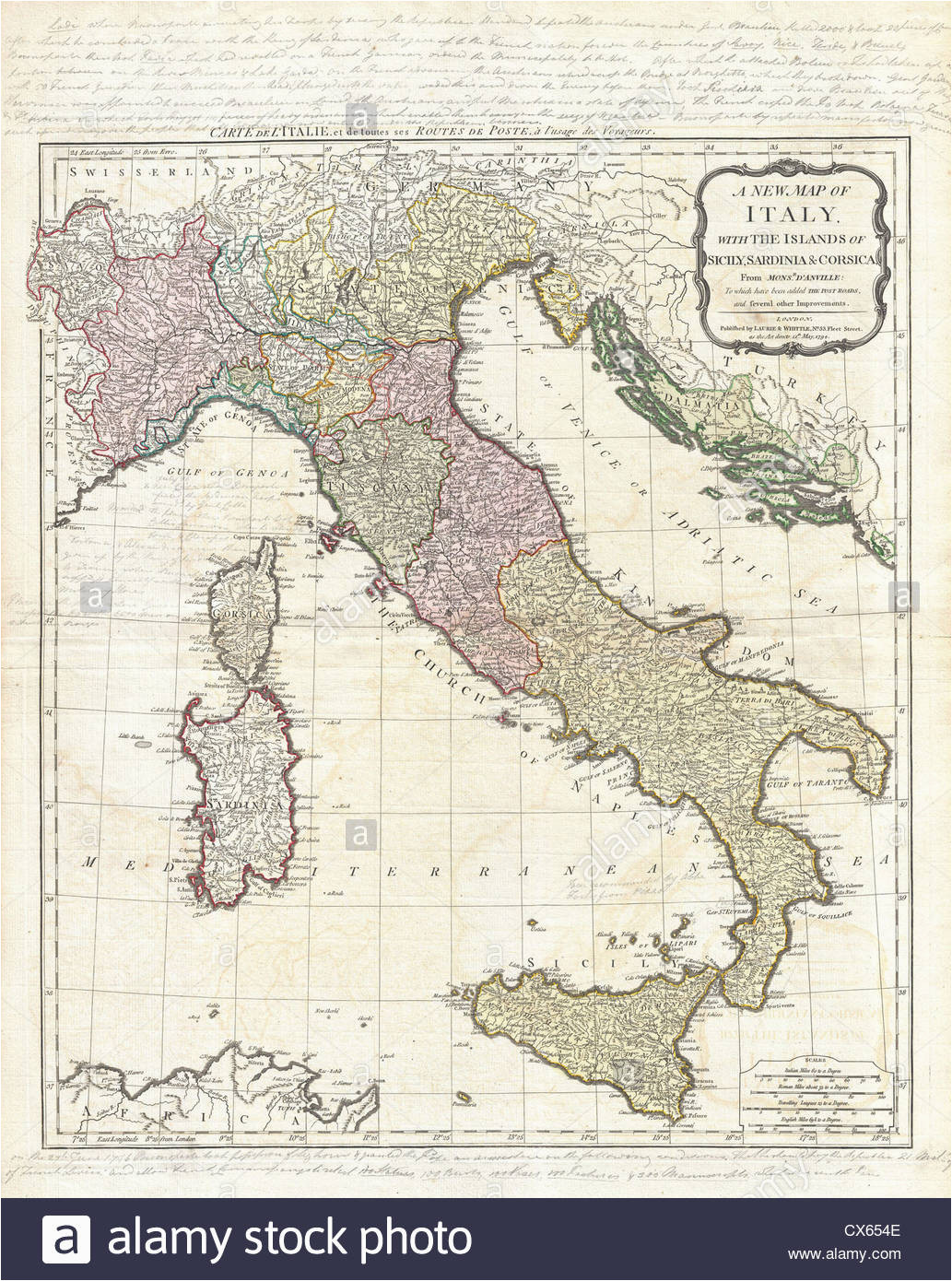 italy map stock photos italy map stock images alamy