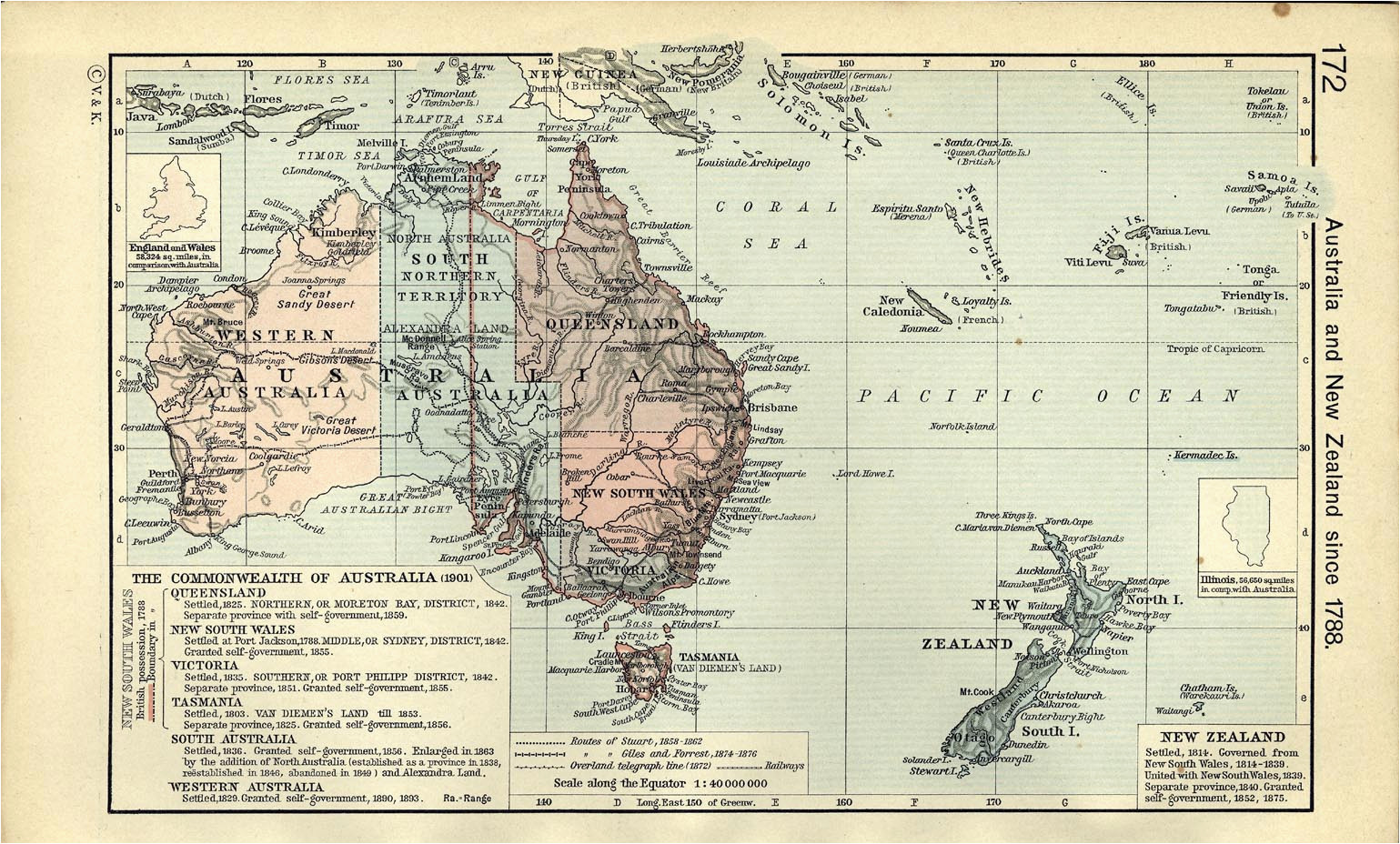 australia and the pacific historical maps perry castaa eda map