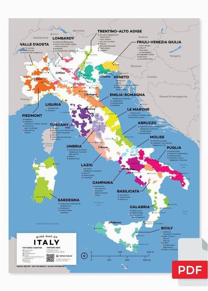 italy wine map in 2019 wine storage wine folly wine recipes