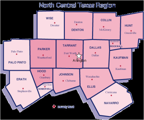 north central texas map business ideas 2013