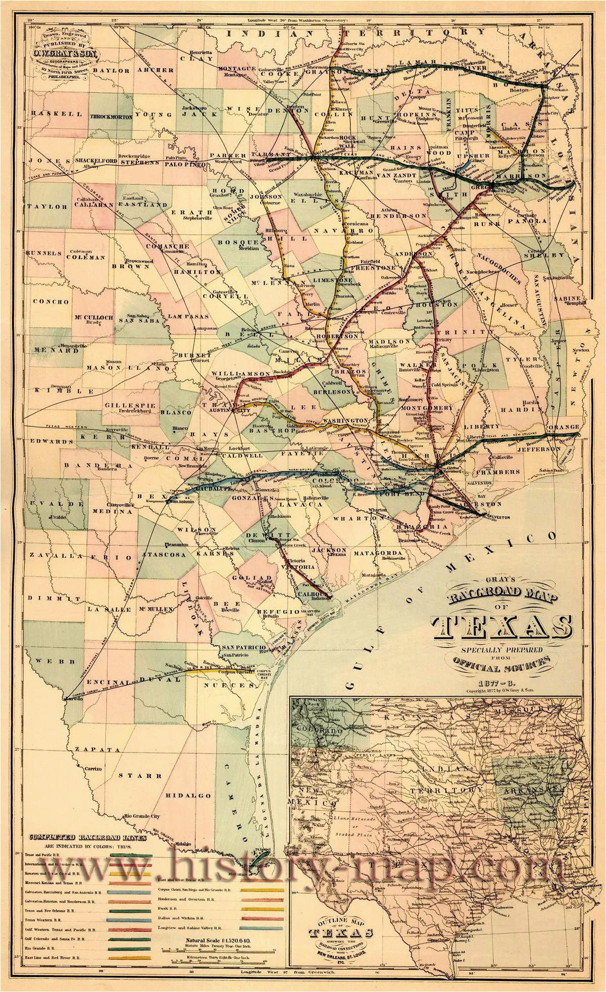 railroad map texas business ideas 2013