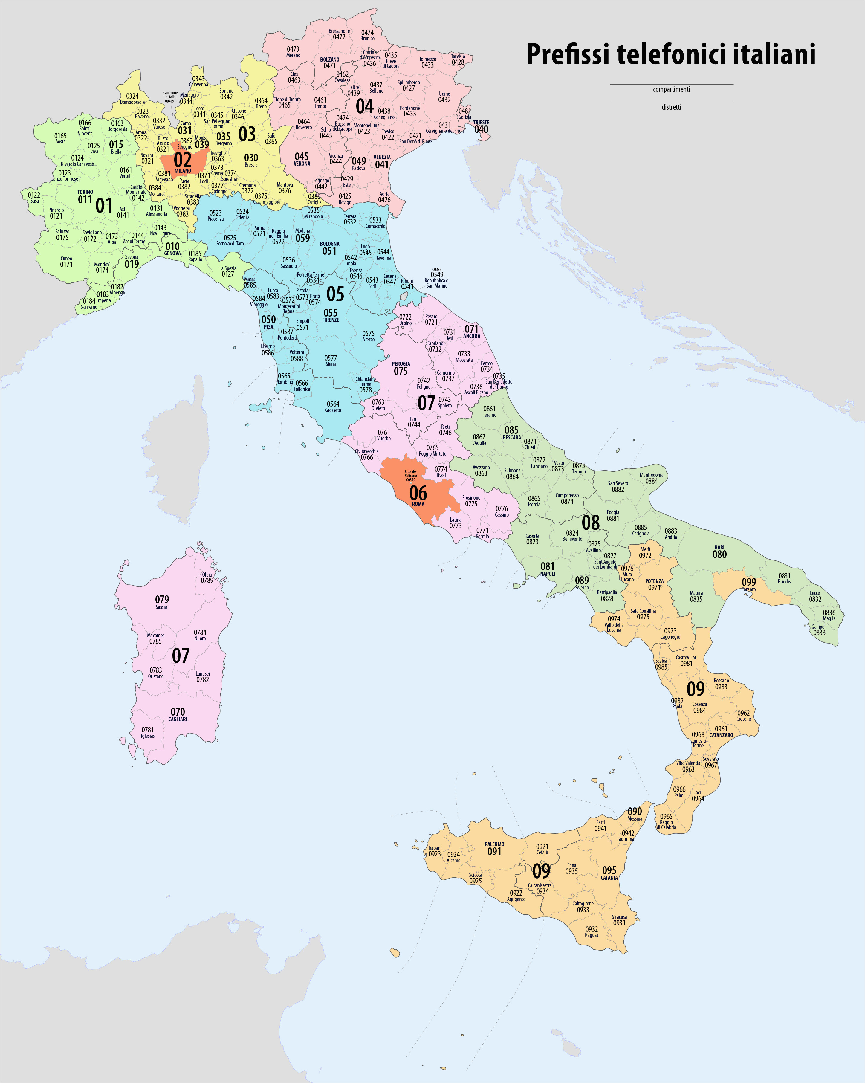telephone numbers in italy wikipedia