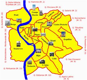 rioni of rome wikipedia