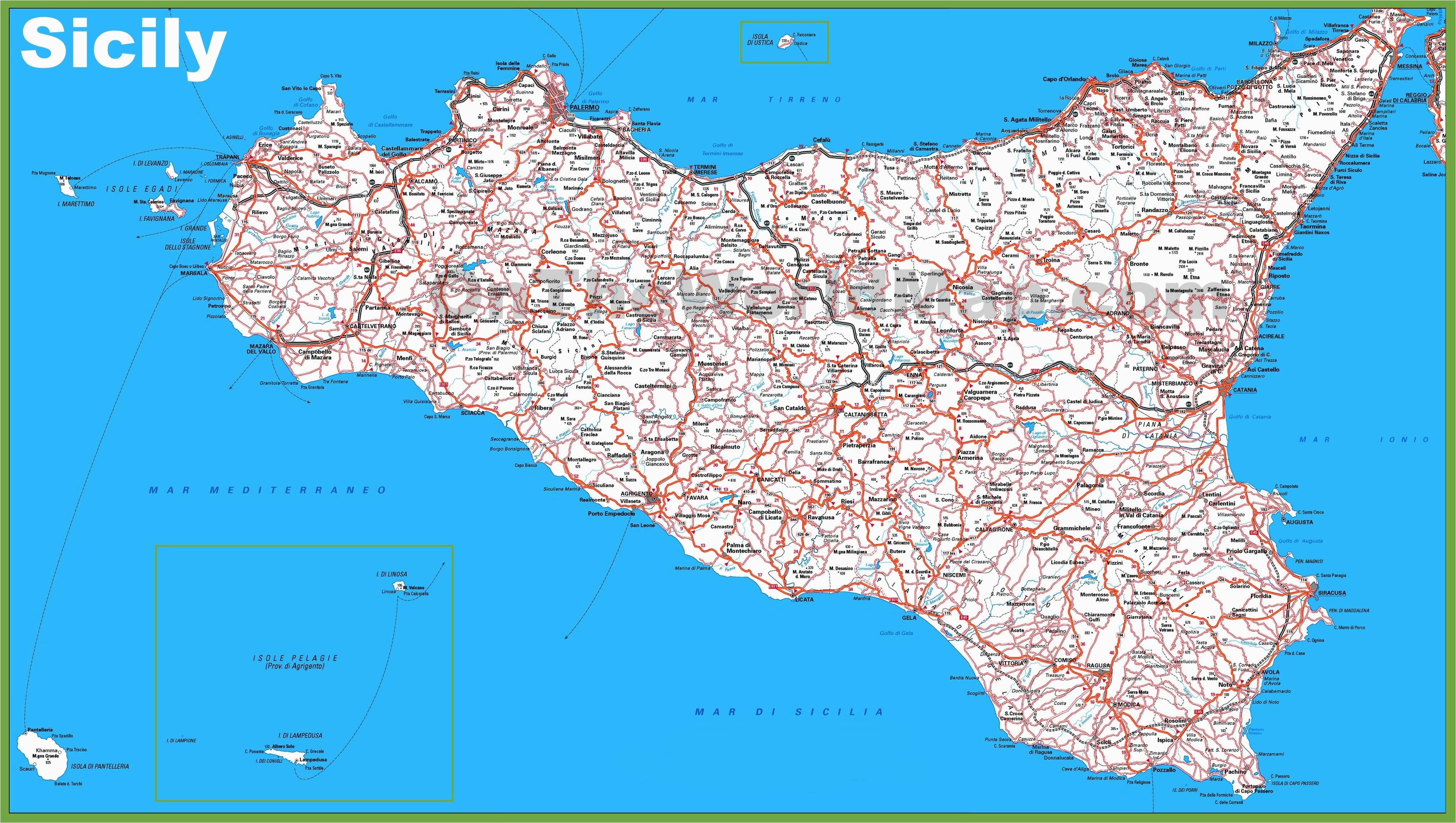 map of sicily italy d1softball net