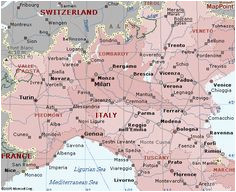 Map Of Switzerland and northern Italy 46 Best Map Of Italy Images In 2019 Pasta Map Of Italy Pasta Recipes