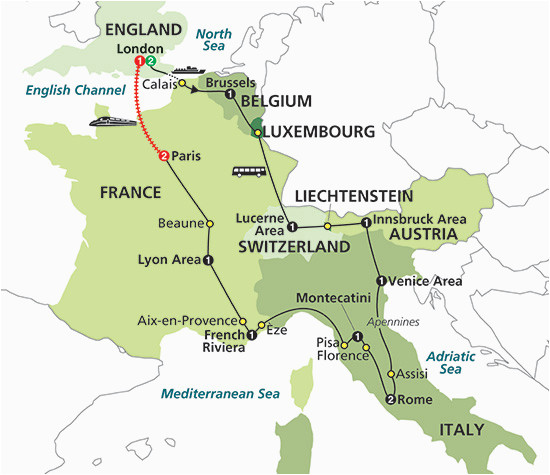 Map Of Italy And Switzerland.Map Of Switzerland France And Italy Map Of France Italy And