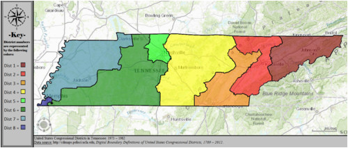 tennessee s congressional districts wikipedia