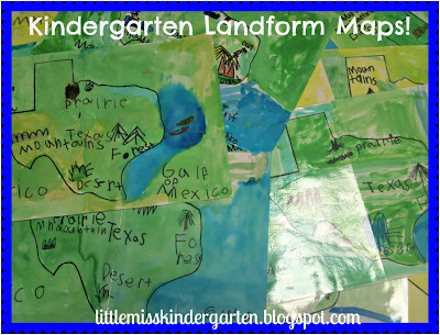 teaching texas landforms school ideas literacy