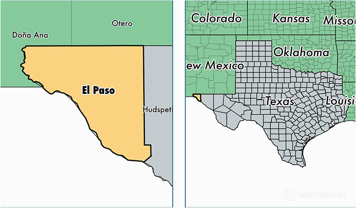 Map Of Texas Showing El Paso where is El Paso Texas On the Map Business Ideas 2013