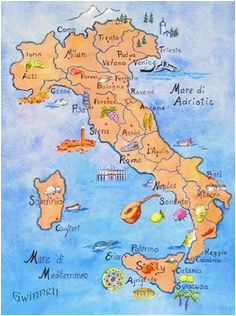 31 best italy map images map of italy cards drake