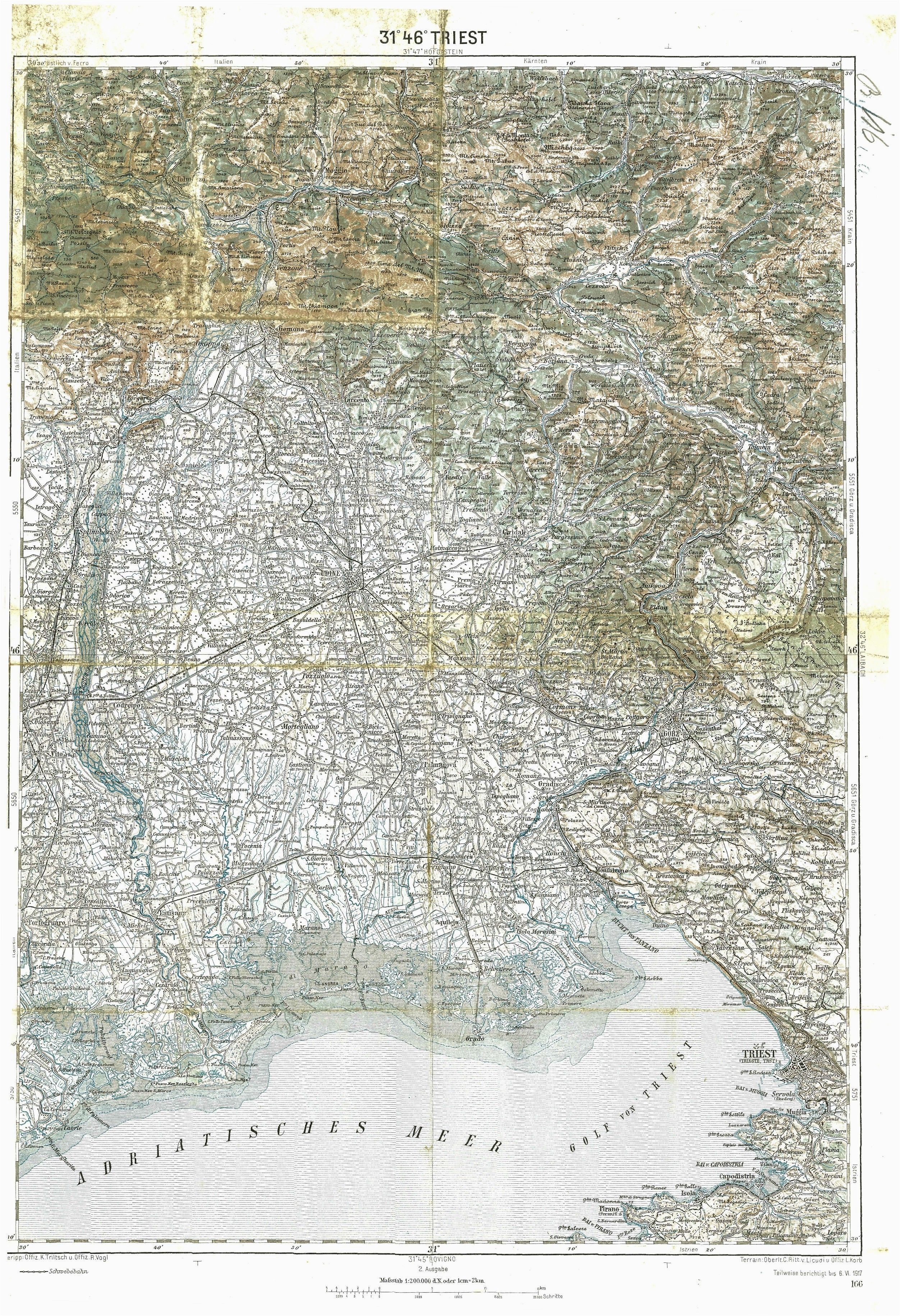 map of trieste random things pinterest map cartography and