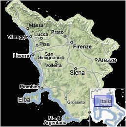 Map Of Tuscany Italy area Tuscany Map Map Of Tuscany Italy