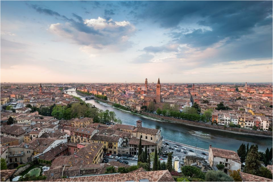 Map Of Verona Italy Romeo And Juliet Top Sights And Tourist