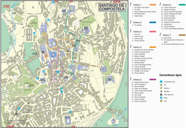Center Of Rome Map on